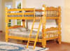 Natural White Oak bunk bed