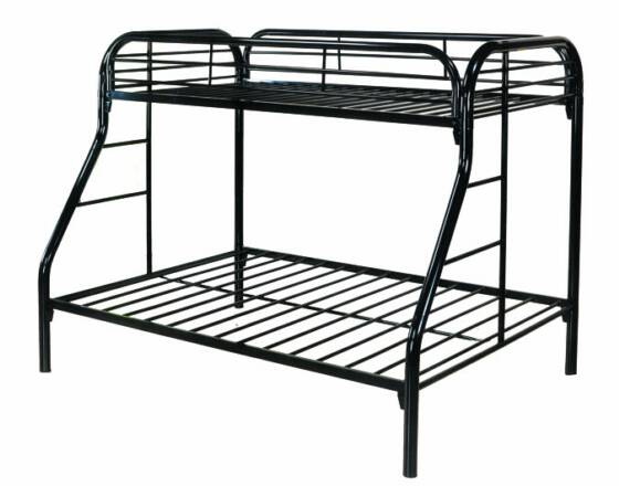 PFI/CTC Bunk Bed 4502 twin/full black metal