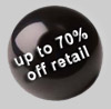 up to 70% off retail