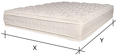 custom size antique mattress