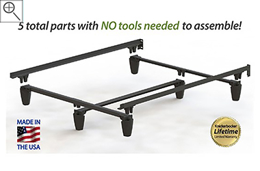 premium extra heavy duty composite metal bed frame twin full queen king sizes