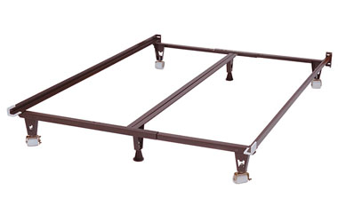 Premium Metal Bed Frame With Stronger Wide Wheels