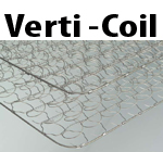 verticoil cheap comfortable spring mattress coil unit
