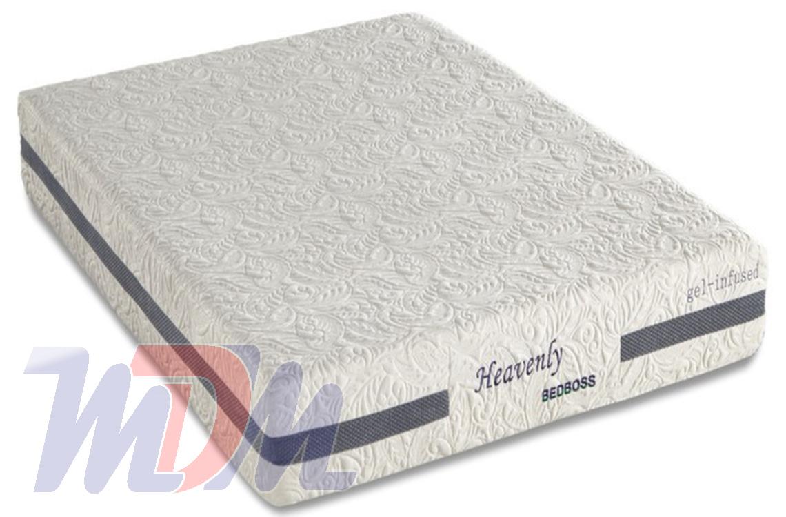 Heavenly A Gel Infused Memory Foam Mattress From Bed Boss