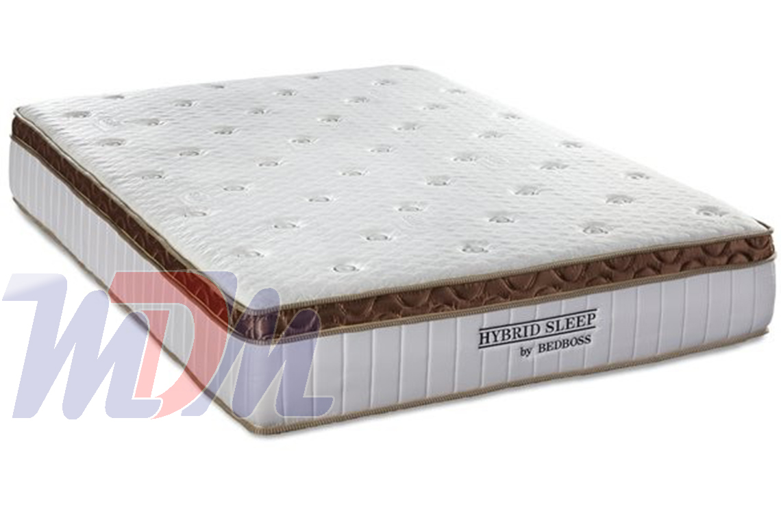 Hybrid Sleep A Pocket Coil Memory Foam Mattress By The