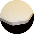 cut corner rounded corner radius cut mattress custom size memory foam gel foam RV mattress boat matt