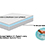 custom odd size mattress gel cooling memory foam made in the usa medium medium firm