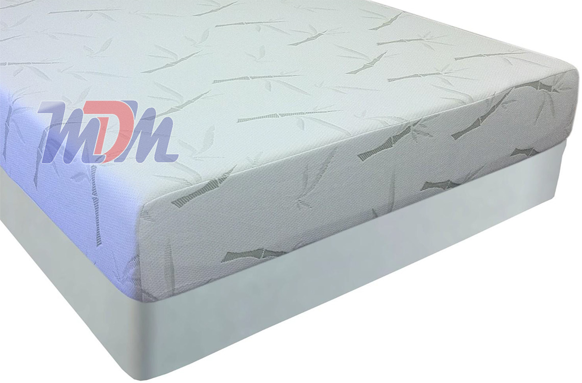10 Inch Slumber Pedic Bamboo Cover Memory Foam Mattress