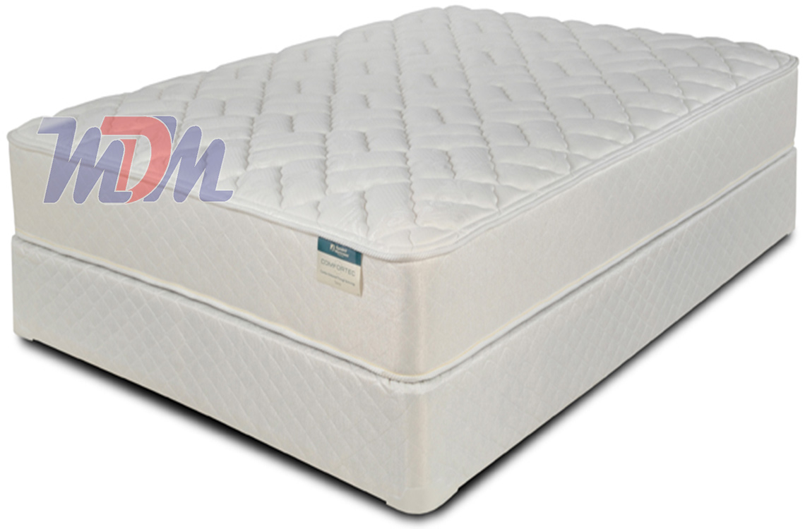 Low Cost Pocket Coil Firm Marshall Symbol Scarlett Mattress Set