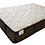 luxury knit cover infused memory foam pocket coil restonic mattress