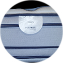 daley restonic pillow top double sided flippable gel infused pocket coil