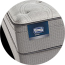 beautysleep rome plush euro top mattress pocket marshall coil simmons