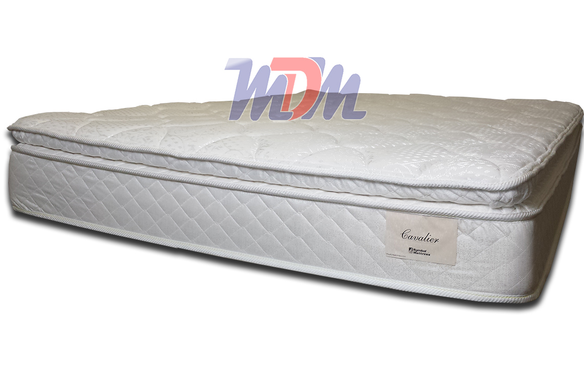 Cavalier pillowtop mattress deal from symbol for Best time for mattress sales