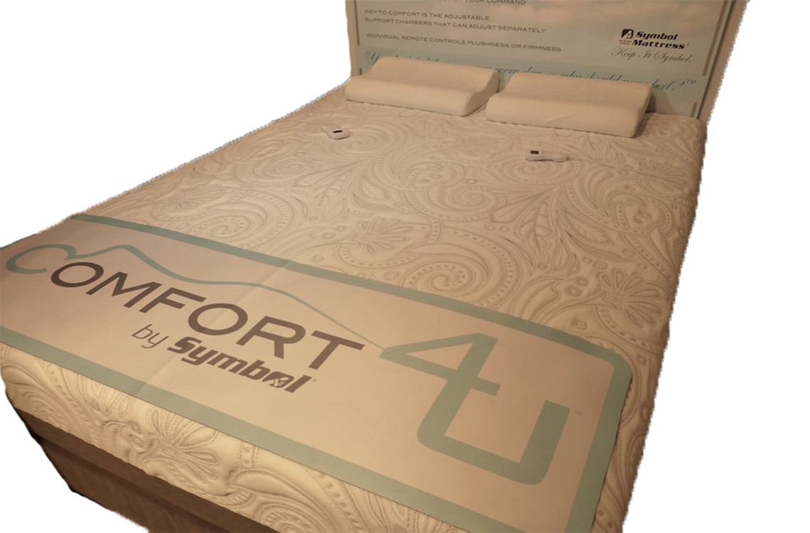 Comfort 4u Adjustable Airbed From Symbol