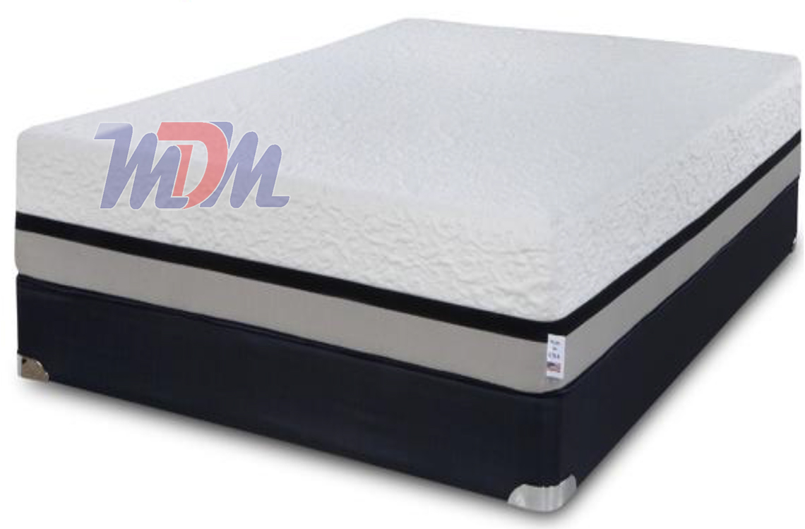 70 X 82 Freedom 13 High Density Memory Foam Mattress