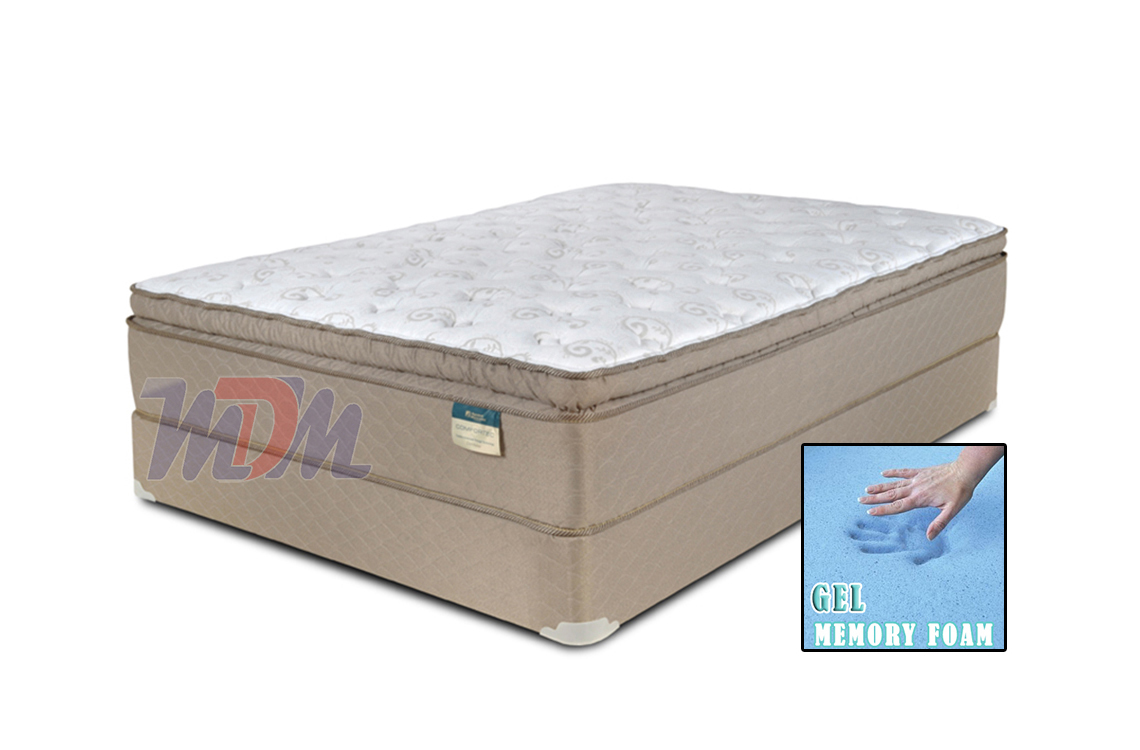 Twin Memory Foam Mattress And Frame