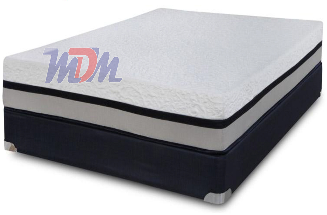 72 X 80 Freedom 11 Memory Foam A Plush Memory Foam Mattress By Symbol