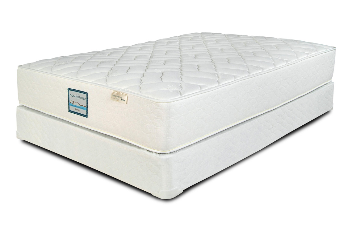 Posturepedic hybrid elite kelburn 12 5 cushion firm mattress Bed and mattress for sale